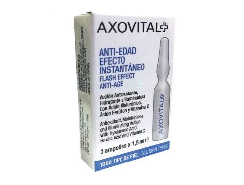 Axovital Ampolla flahs Belleza Instantánea Efecto Lifting 3 unidades