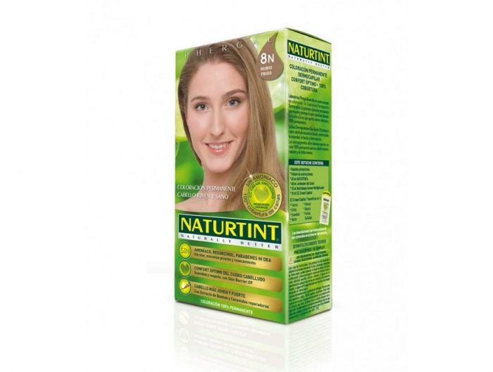 tinte sin amoniaco Naturtint 8N Rubio trigo