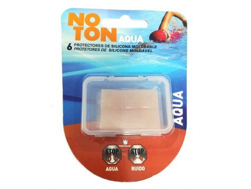 Tapones oídos de silicona moldeables Noton 6 unidades