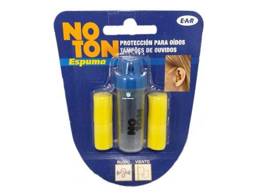 Tapones oídos de espuma Noton 2 pares