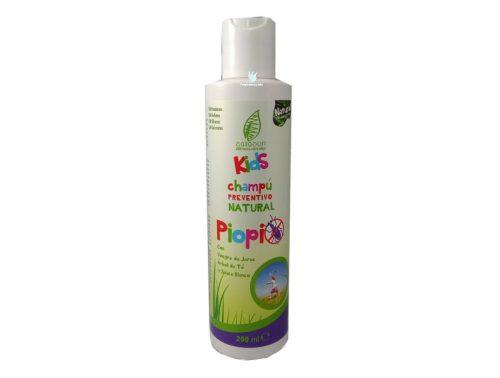 Champú para piojos preventivo natural Piopi Sanasur