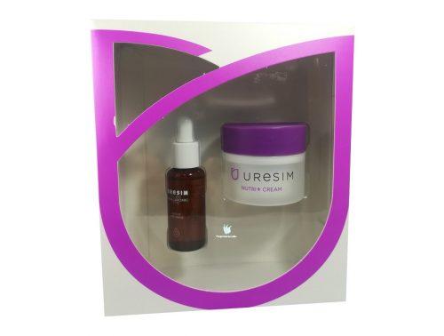 Pack Uresim Crema nutritiva y serum de ácido hialurónico