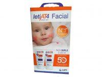 Pack de crema facial para piel atópica Leti At4