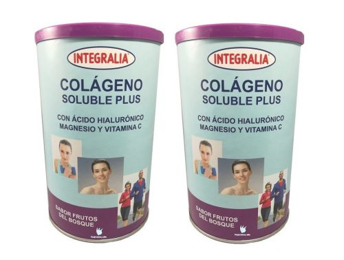 Pack de Colágeno Plus soluble Integralia sabor frutas del bosque