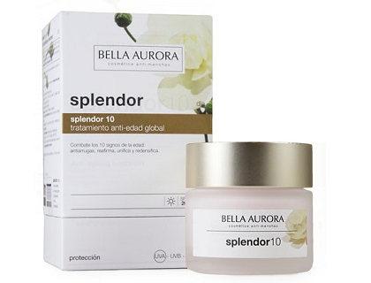 Crema de día antiedad Bella Aurora Splendor 10