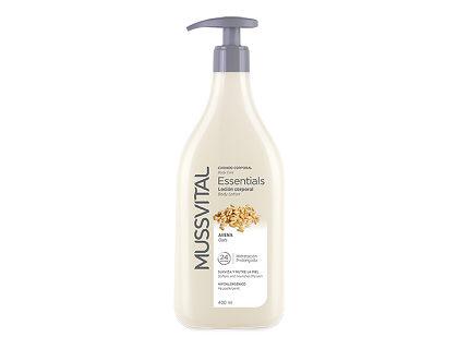 Body milk loción corporal de avena Mussvital