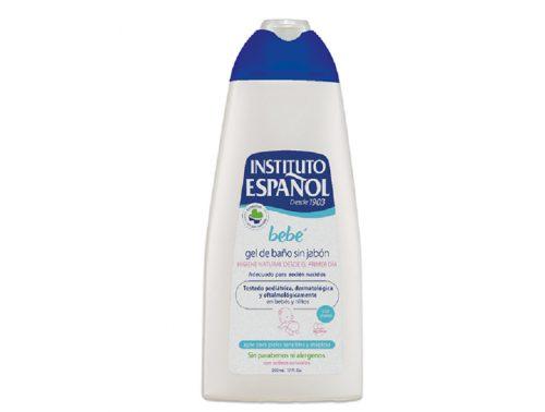 Gel de baño sin jabón para Bebé Instituto español 500 ml