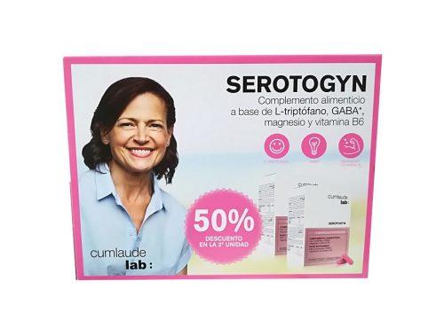 Pack Serotogyn Gynelaude 2 x 60 cápsulas