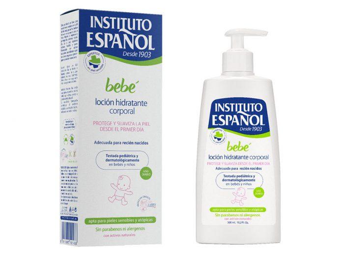 Loción hidratante corporal Bebé Instituto Español 300 ml