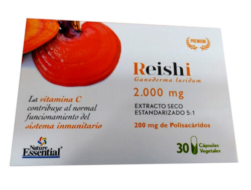 Reishi Nature essential 30 cápsulas